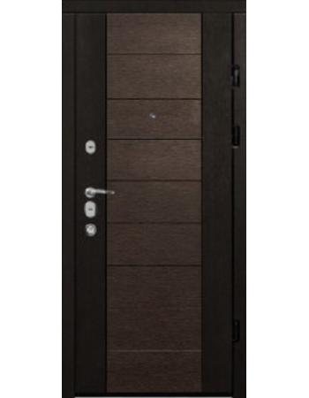 Входные двери Магда 600 два цвета Элит Тип-13 Венге южный/Венге магия