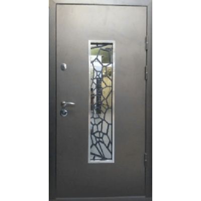 Двері Магда 142 тип 4 Метал / Мдф