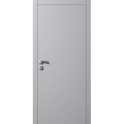 Двері A1 RAL 7004 сірий шовк