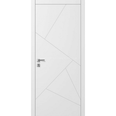 Двери AL-9 белый Авангард