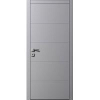 Межкомнатные двери AL2 RAL 7004 серый шелк