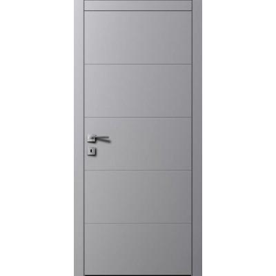 Міжкімнатні двері AL2 RAL 7004 сірий шовк