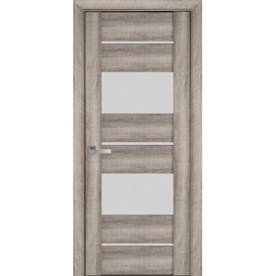 Двери Новый Стиль Аскона Бук баварский со стеклом сатин