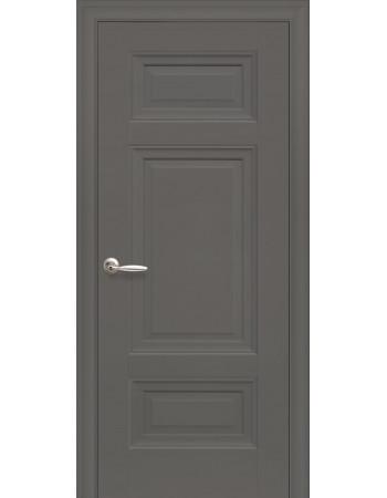 Дверь Элегант Шарм антрацит глухая