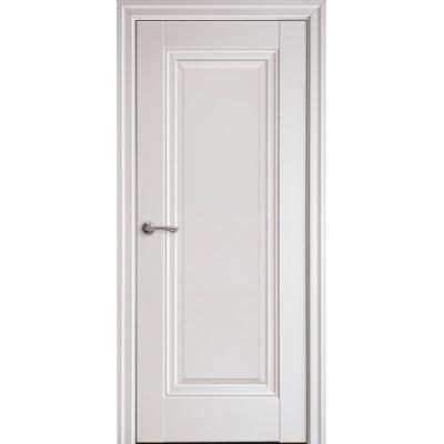 Двері Елегант білий матовий Престиж (глуха)