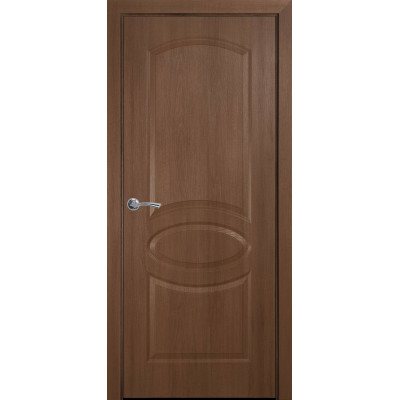 Двери Новый Стиль Овал золотая ольха глухие