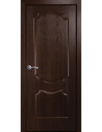 Двери Новый Стиль Вензель каштан глухие