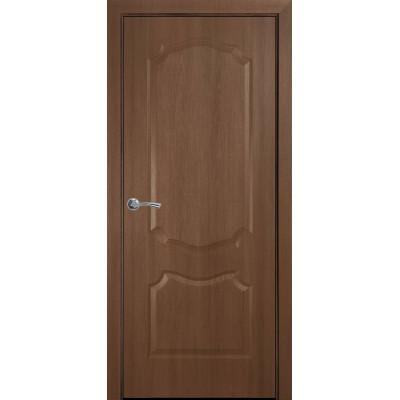 Двері Новий Стиль Вензель золота вільха глухі