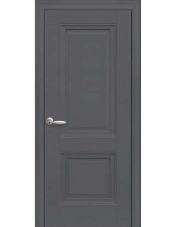 Дверь Элегант Имидж антрацит глухая