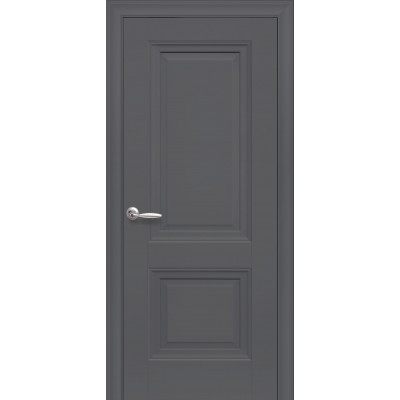 Двері Елегант Імідж антрацит глухі