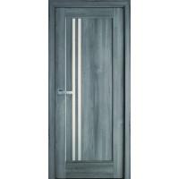 Двері Ностра Делла бук попелястий зі склом сатин