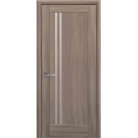 Двері Ностра Делла золотий дуб зі склом сатин