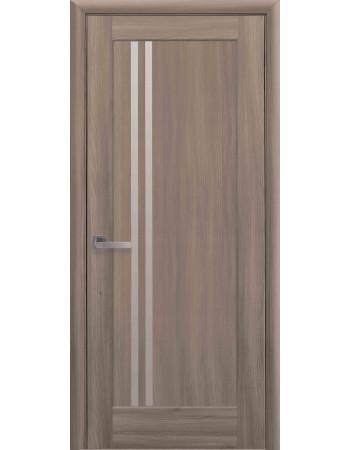 Дверь Ностра Делла золотой дуб со стеклом сатин