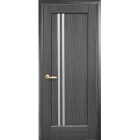Двері Ностра Делла grey зі склом сатин