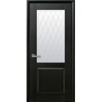 Двері Маестра Эпика венге new зі склом сатин і малюнком Р2