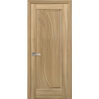 Двері Маестра Эскада золотий дуб глухі з гравіюванням