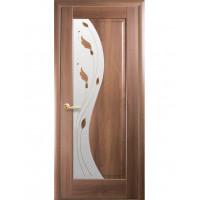 Двері Маестра Эскада золота вільха склом сатин і малюнком Р1