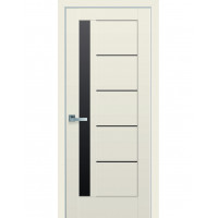 Двері Ностра Грета капучино з чорним склом