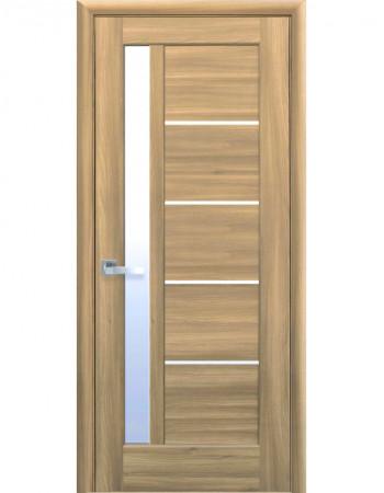 Дверь Ностра Грета золотой дуб со стеклом сатин