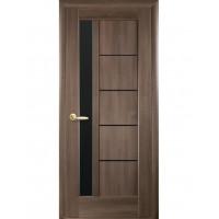 Двері Ностра Грета золота вільха з чорним склом