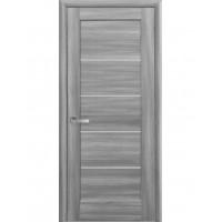 Двері Ностра Мира бук попелястий зі склом сатин