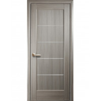 Двері Ностра Мира ясен new зі склом сатин