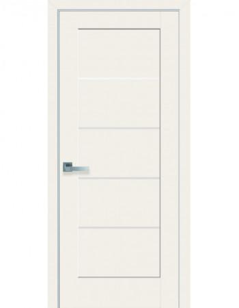 Дверь Ностра Мира магнолия со стеклом сатин