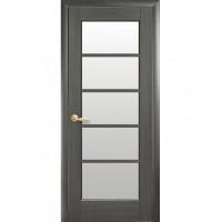 Двері Ностра Муза grey зі склом сатин