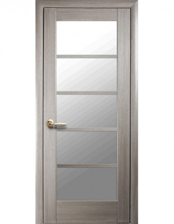 Дверь Ностра Муза ясень new со стеклом сатин