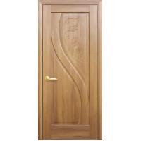 Двері Маестра Прима золота вільха глухі з гравіюванням