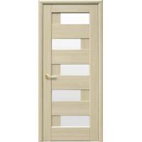 Двері Ностра Пиана золотий дуб зі склом сатин