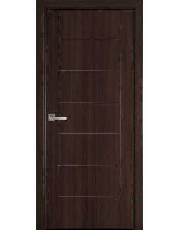 Двері Новий стиль Ріна колір каштан