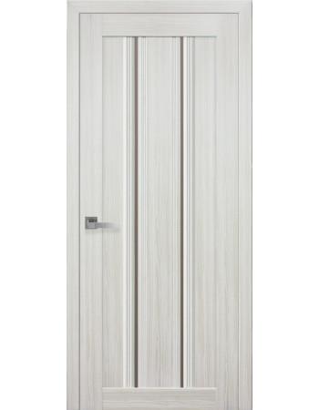Двери Новый Стиль Итальяно Верона С1 Бронза жемчуг белый