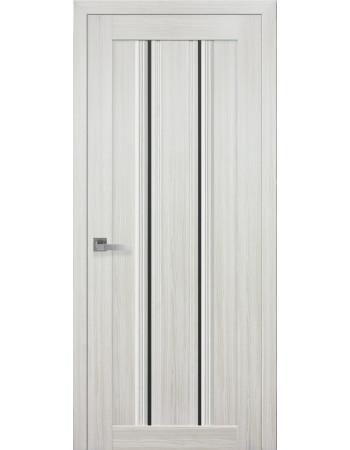 Двери Новый Стиль Итальяно Верона С1 со стеклом жемчуг белый