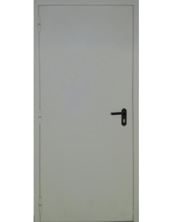 Двері протипожежні c притвором метал / метал (Вулиця)