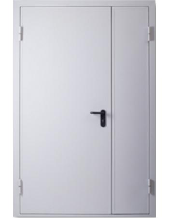 Двері Полуторні Технічні EI 60 Шагрень RAL 7035
