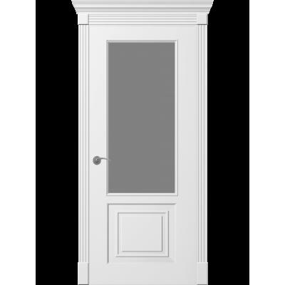 Дверь Provance Монако ПО стеклом белая