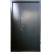 Двері полуторні Метал / Метал для вулиці Антрацит