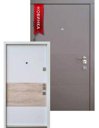 Входная дверь QDOORS серия АВАНГАРД модель БЬЮТИ-М БЕЛАЯ внутри