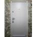 Входные двери QDOORS серия АВАНГАРД модель ПОЛО белая внутри