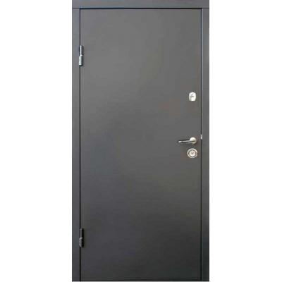 Двері Qdoors Віп М Горизонталь Метал / МДФ (Вулиця)