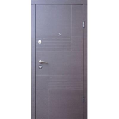 Двері Qdoors Каліфорнія (Еталон) венге сірий горизонт