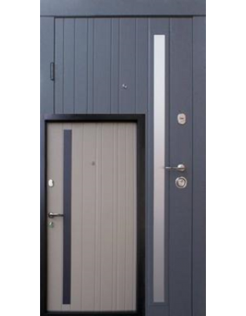 Двері Qdoors (Преміум) Браш Al (Квартира)