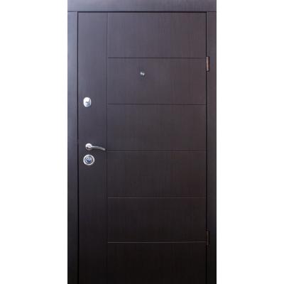 Двери Qdoors (Эталон) Аризона - чорно/белая (Квартира)