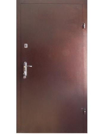 Двери технические эконом плюс металл/металл Улица