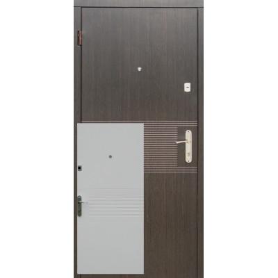 Двері Redfort Лайн, Венге / Ясень білий структурний