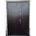 Двери полуторные Металл/Метелл с притвором