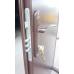 Двери Технические полуторные 2 листа металл/металл Улица