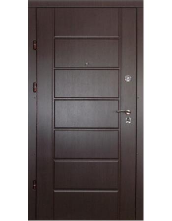 Двери Redfort Канзас Комфорт (гнутый профиль) улица 3 контура