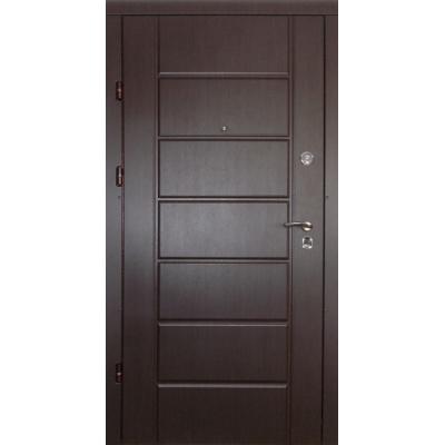 Двери Канзас венге Квартира (две трубы)